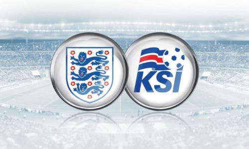England lawan Iceland